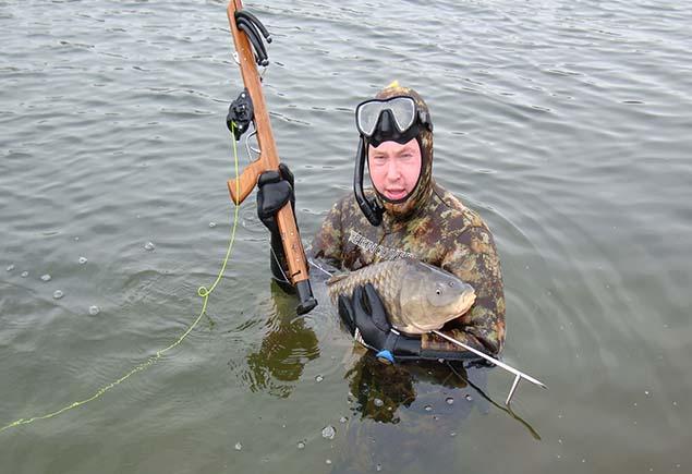 Арбалет для подводной охоты