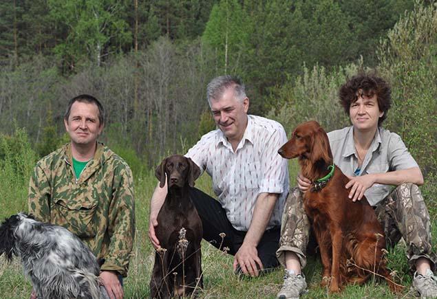 Как приучить к работе охотничью породу собаки