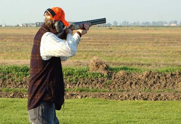 Стрельба из охотничьего ружья