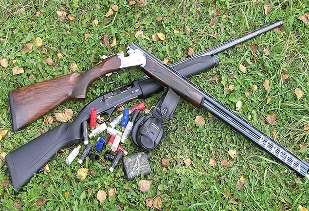 Способы увеличения и уменьшения кучности при стрельбе дробью