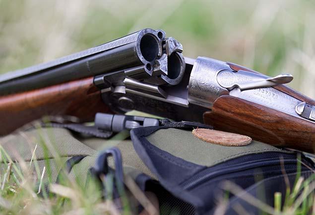 Ружье на охоте