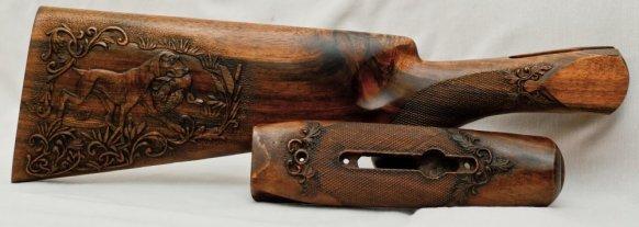 Приклады ложи цевья к охотничьим ружьям