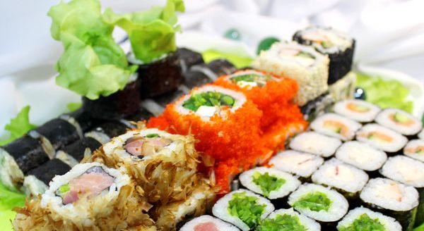 Вкусные суши в Днепре